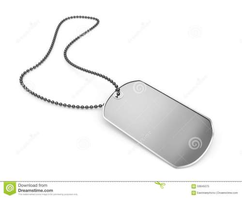 small resolution of download blank metal dog tag isolated stock illustration illustration of metal background 59845075