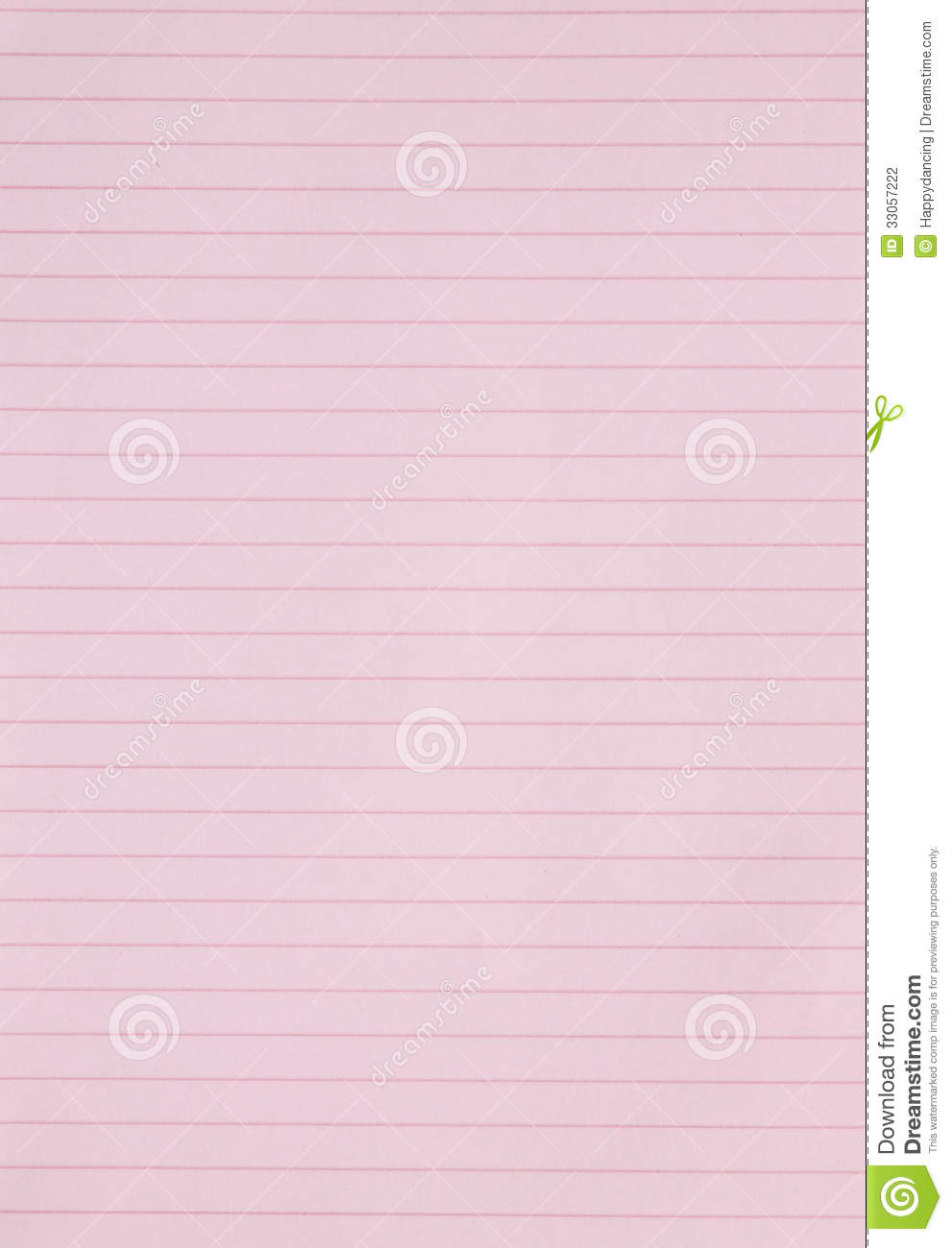 Cute Notepad Wallpaper Blank Pink Lined Paper Background Or Textured Stock