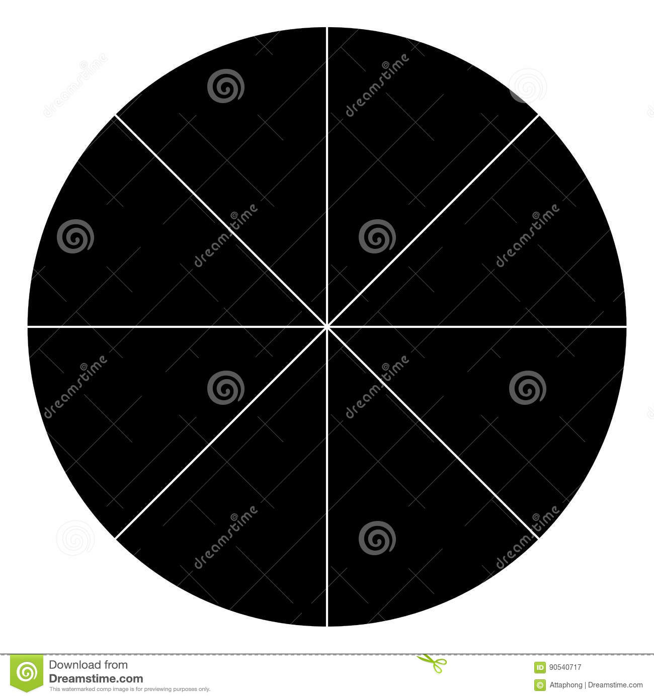 degree circle diagram wiring for two way switch uk blank polar graph paper protractor pie chart vector