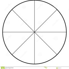 Degree Circle Diagram Wiring 2 Lights Double Switch Blank Polar Graph Paper Protractor Pie Chart Vector