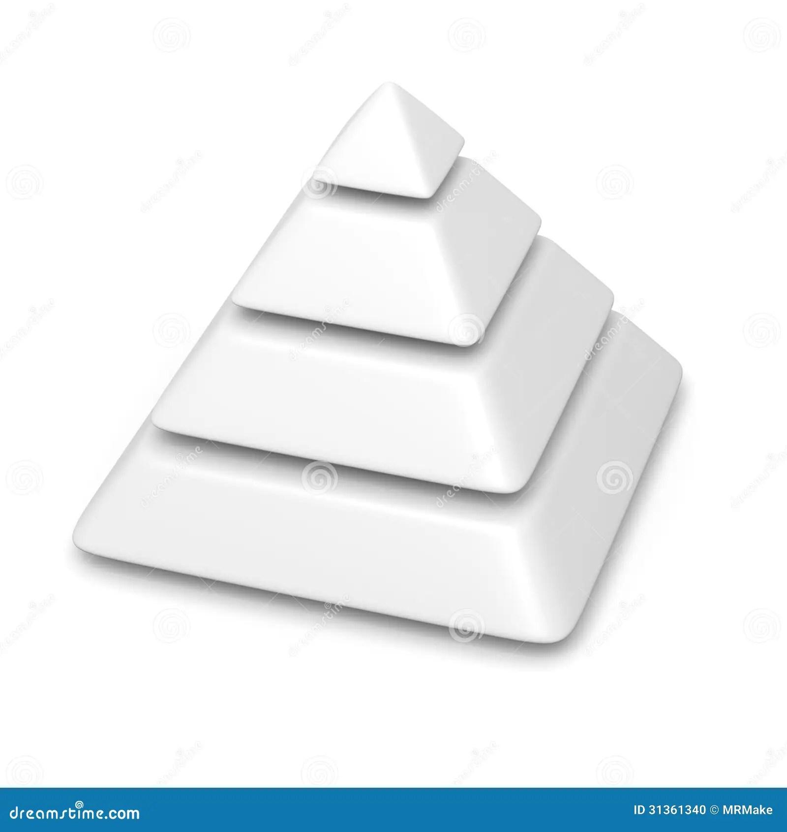 blank pyramid diagram 5 240 volt single phase motor wiring 4 levels stack stock illustration image
