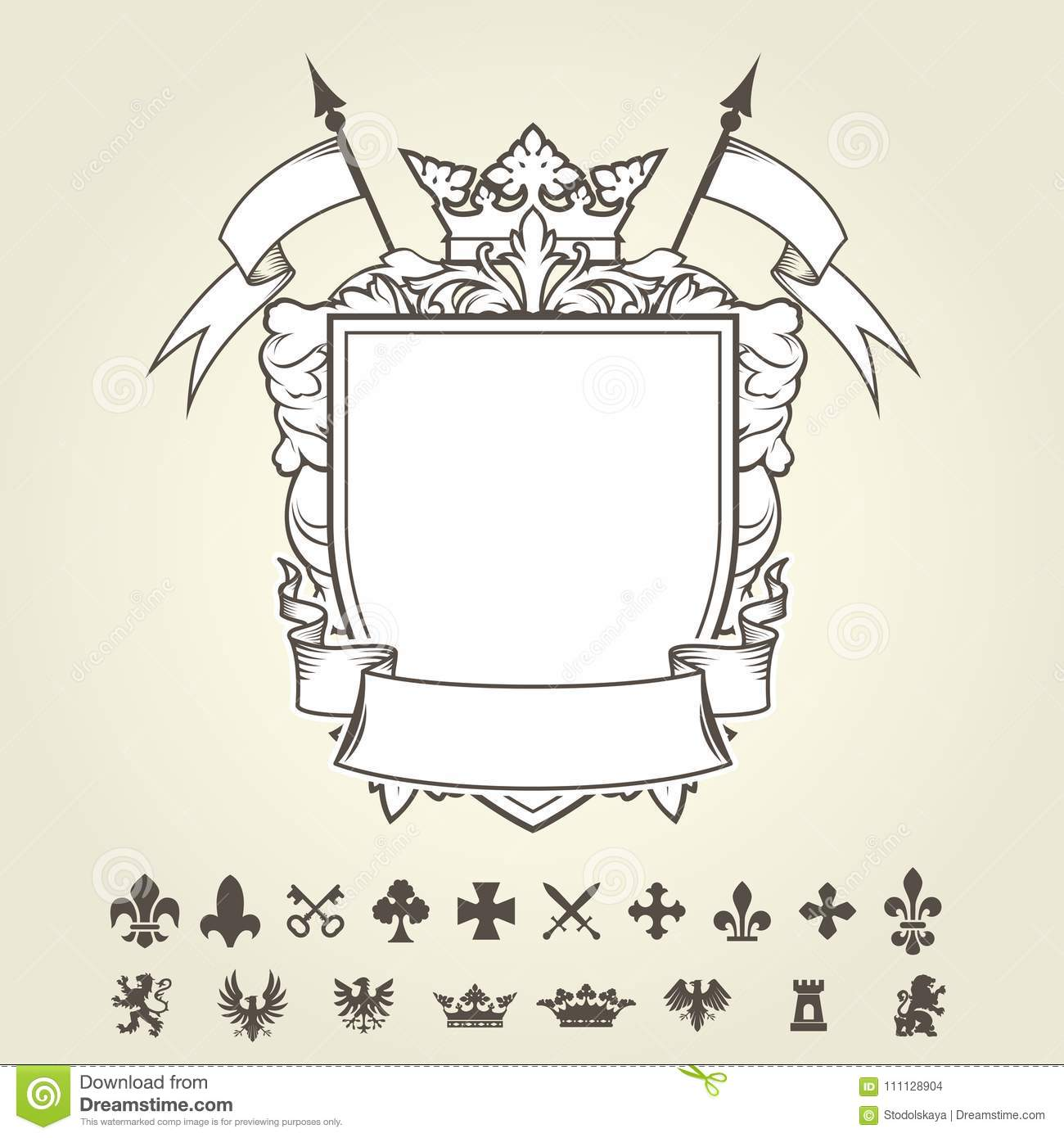 Blank Template Of Coat Of Arms