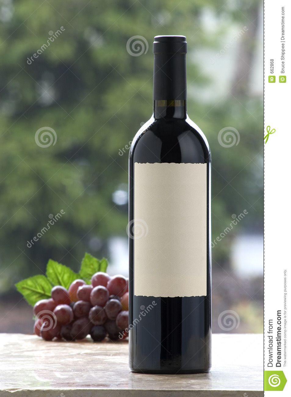 Blank Wine Label Royalty Free Stock Photos  Image 662868