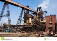 Blast Furnace Plant Stock Photo - Image: 30669470