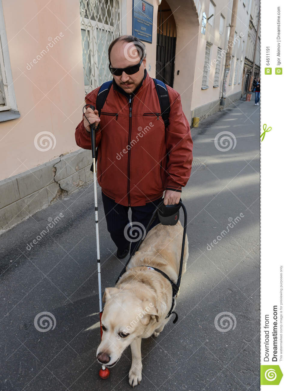 assistance for the blind