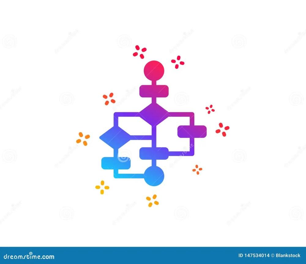 medium resolution of block diagram icon path scheme sign algorithm symbol dynamic shapes gradient design block diagram icon classic style vector
