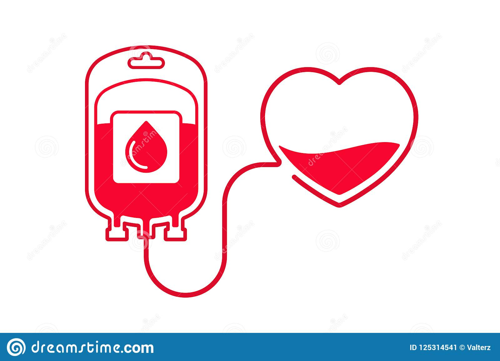 hight resolution of blood donation vector illustration donate blood concept with blood bag and heart world blood donor day june 14