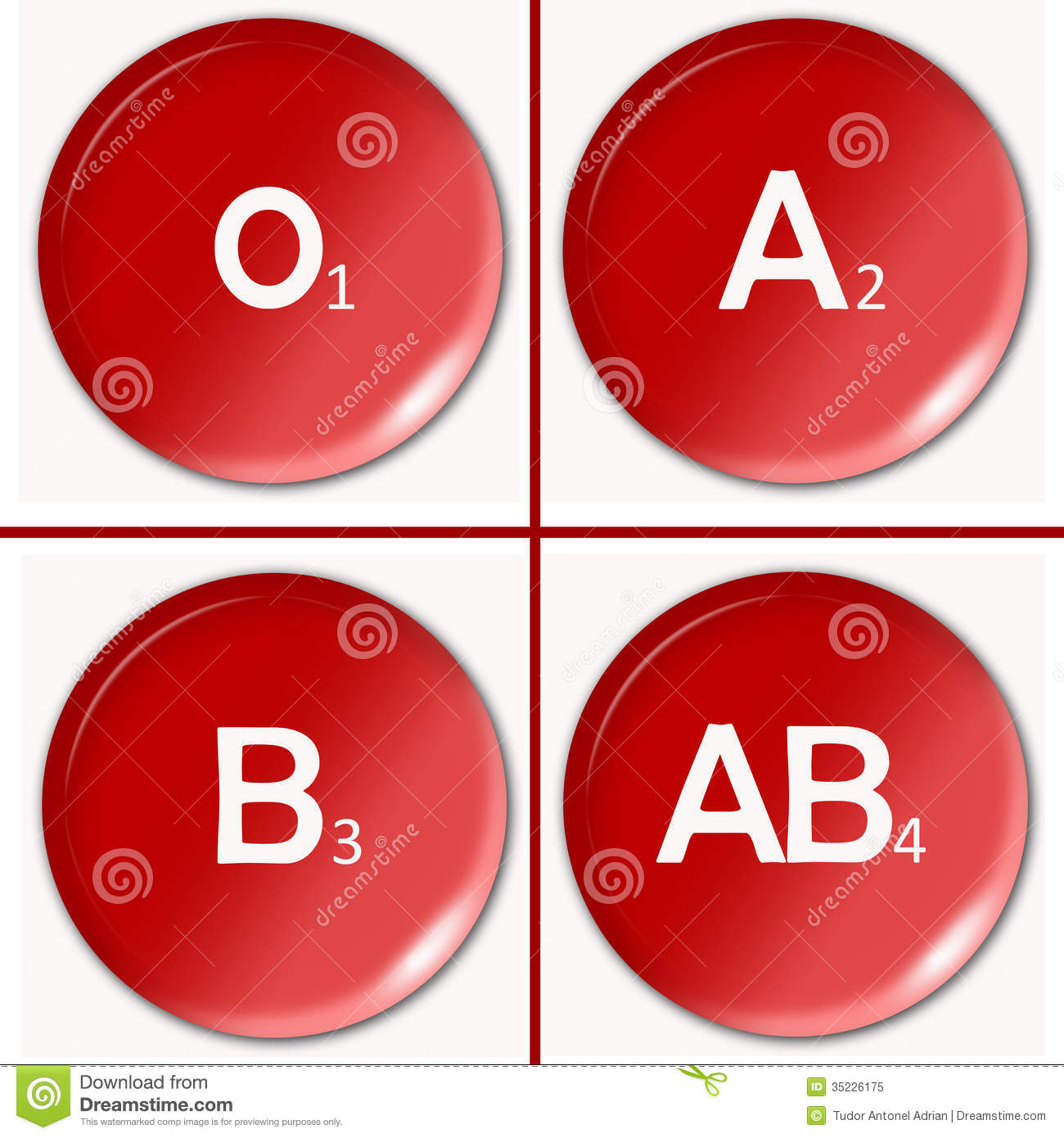 Blood Type Stock Illustration Illustration Of Doctor