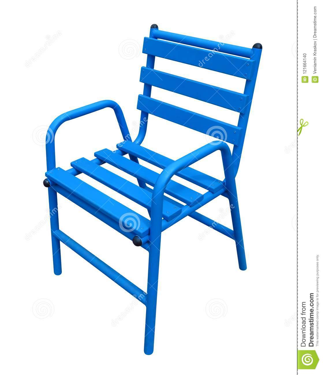 Famous Chair Blue Cannes Chair Stock Photo Image Of Riviera Chairs 121664140