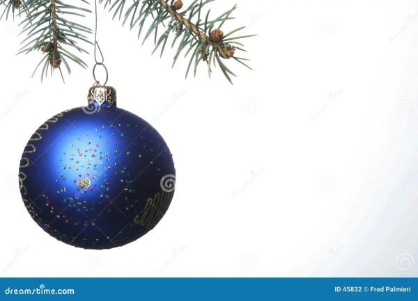 Blue Christmas Ball Stock - 45832