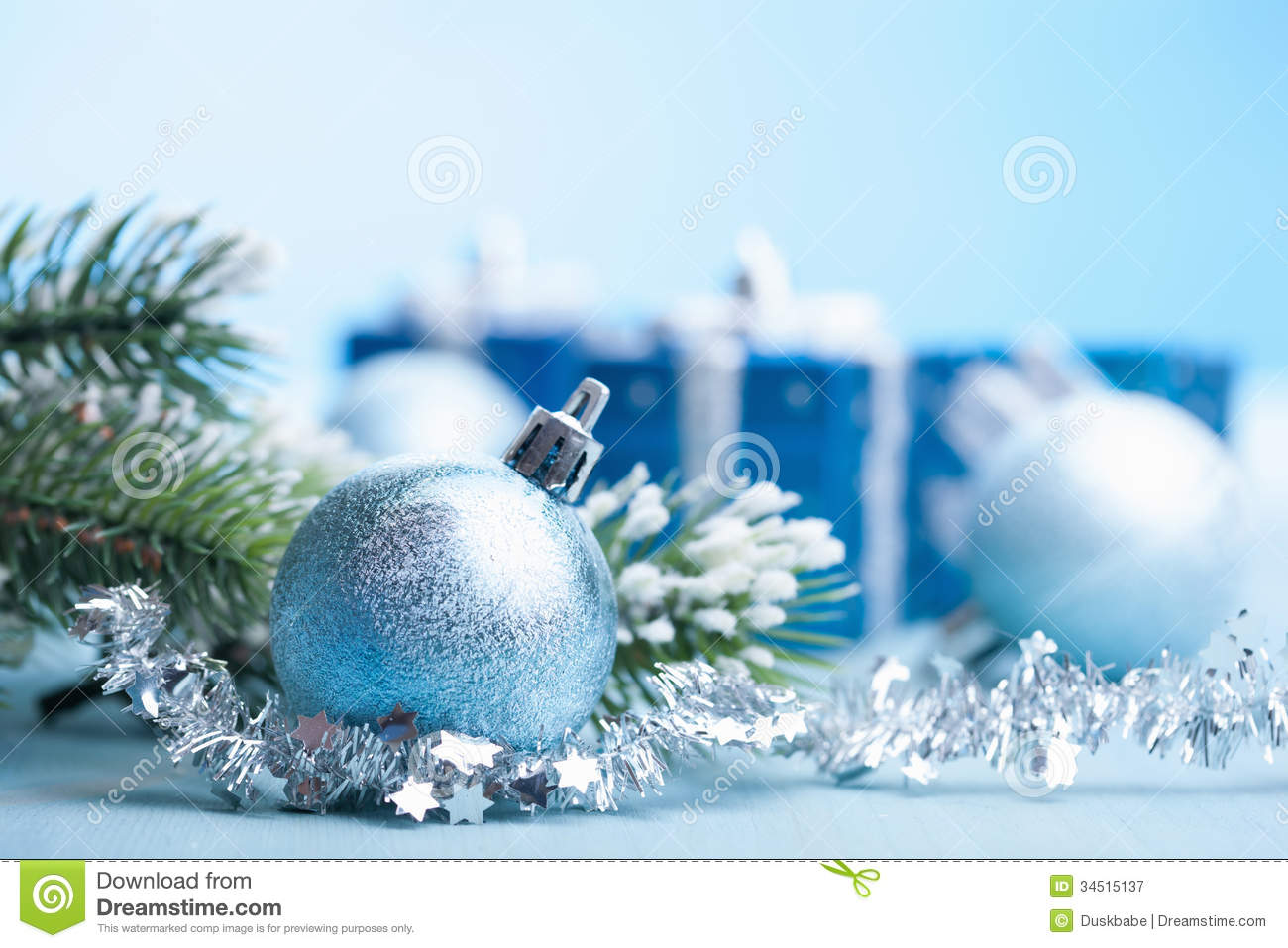 s royalty free stock photography blue christmas ts decoration decorations