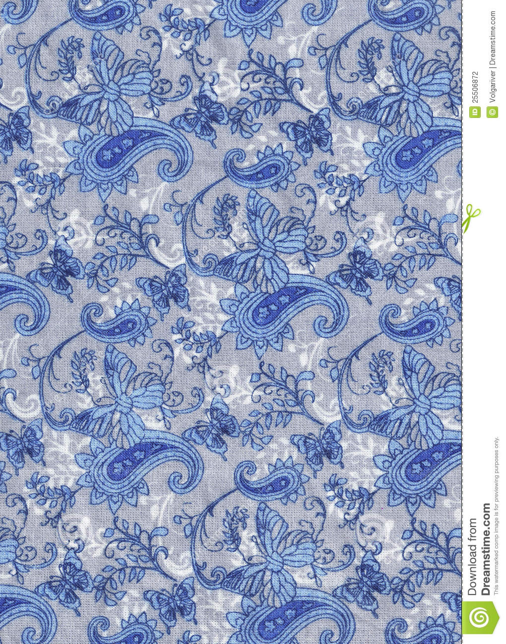 Blue And Gray Fabric Background Stock Photo Image Of