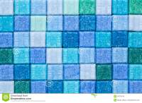 Blue And Green Mosaic Tiles Royalty Free Stock Images ...