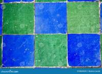 Blue Green Mosaic Tiles Stock Photo - Image: 88696535
