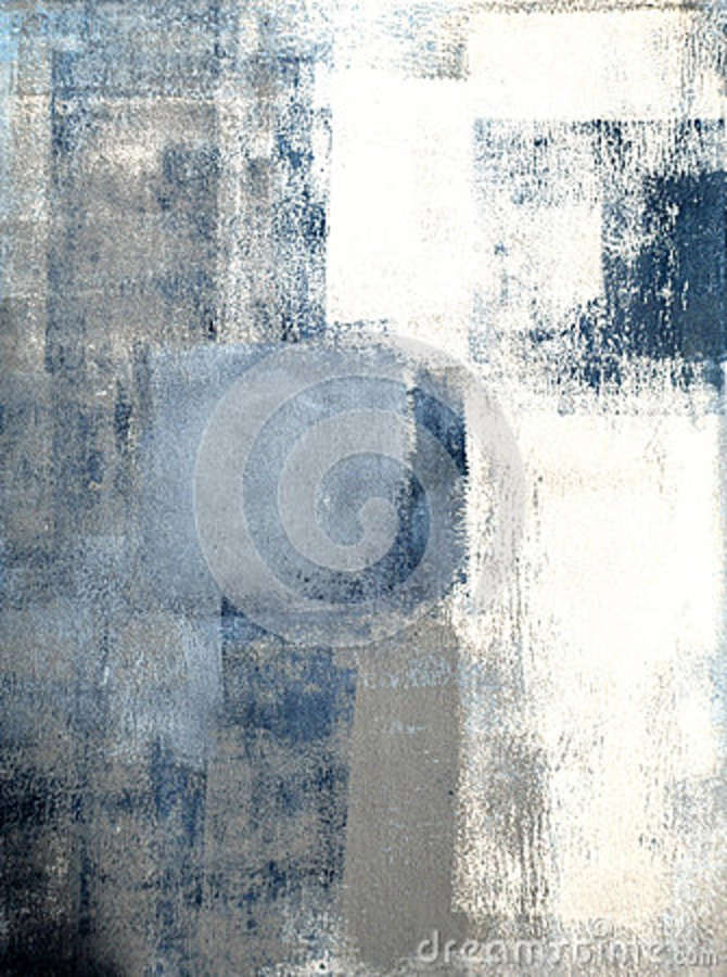 blue and grey abstract