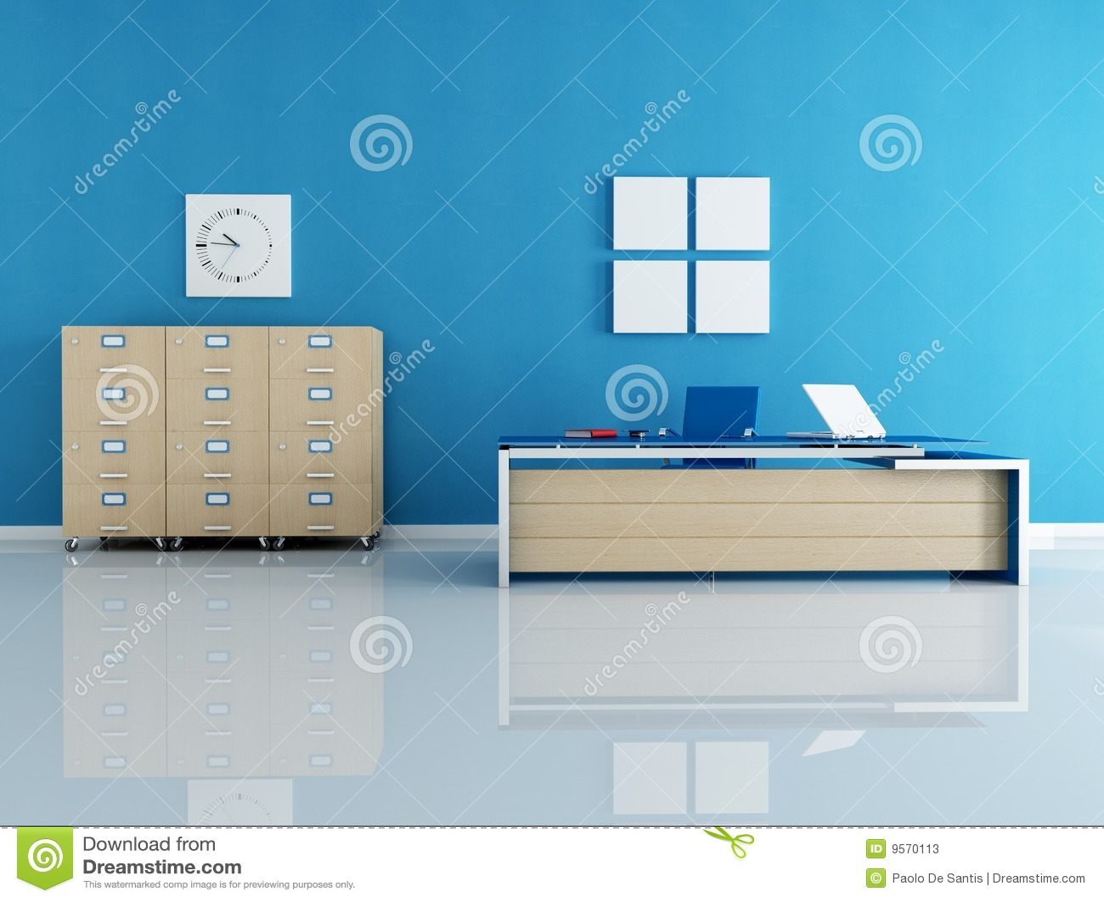 office chair illustration rowe keller blue interior stock illustration. image of contemporary - 9570113