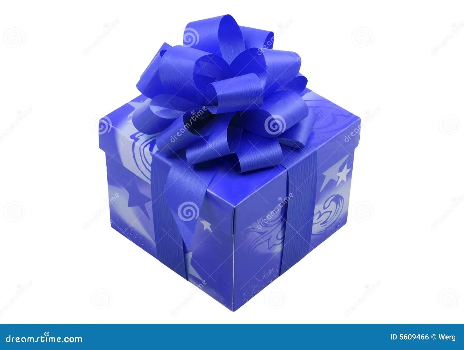 Blue Present Royalty Free Stock Image Image 5609466