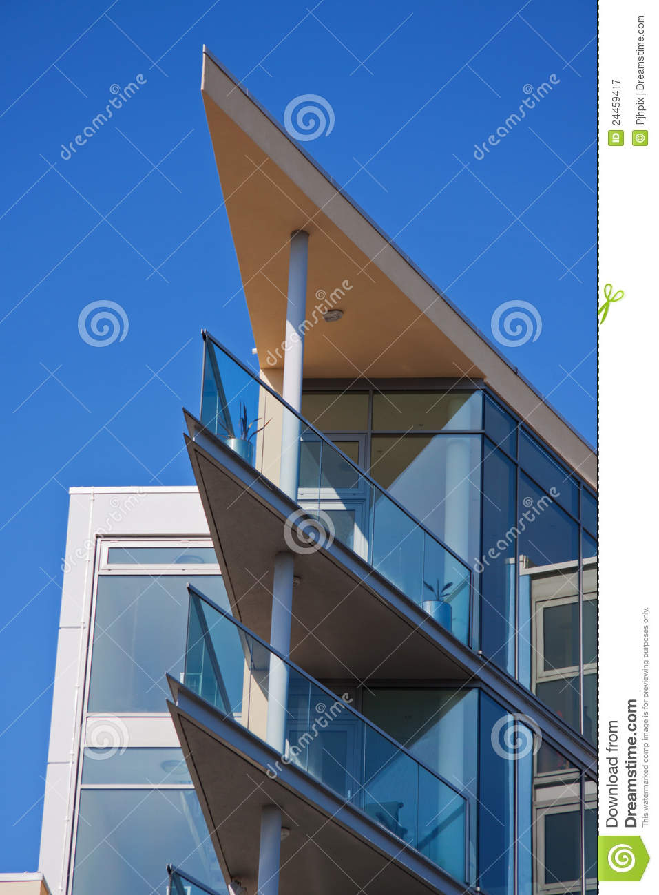 Blue Sky And Acute Angles Royalty Free Stock Photography