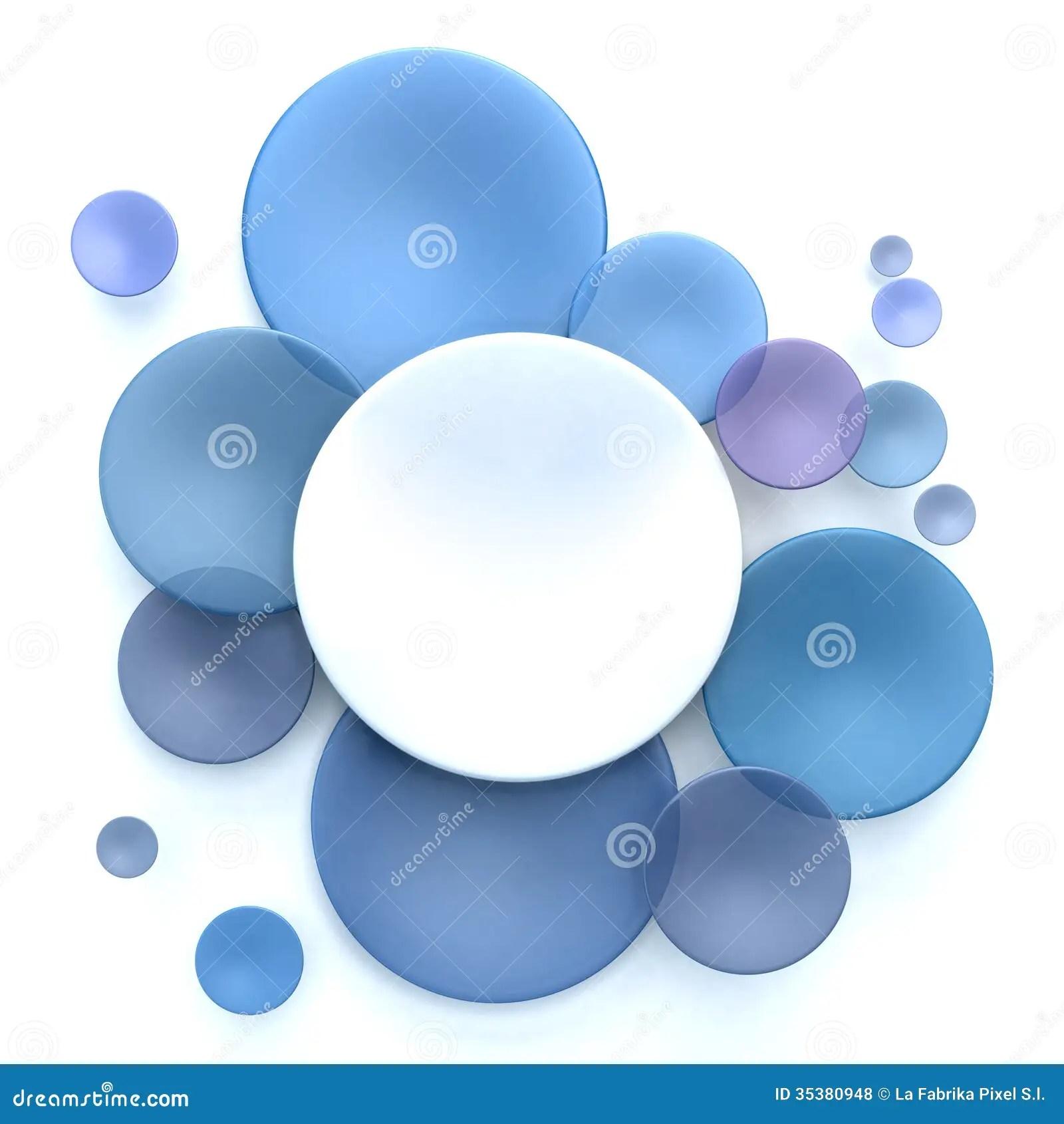 Bubble Lenses Blue Contact
