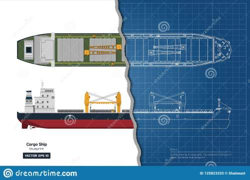 small resolution of blueprint of cargo ship on white background top side and front view of tanker