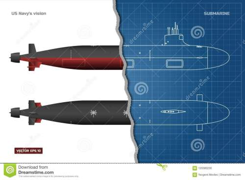 small resolution of top front and side view battleship model industrial drawing warship in outline style vector illustration