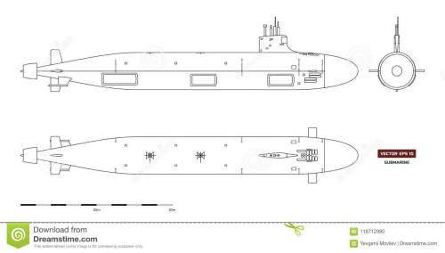 small resolution of blueprint of submarine military ship top front and side view battleship model