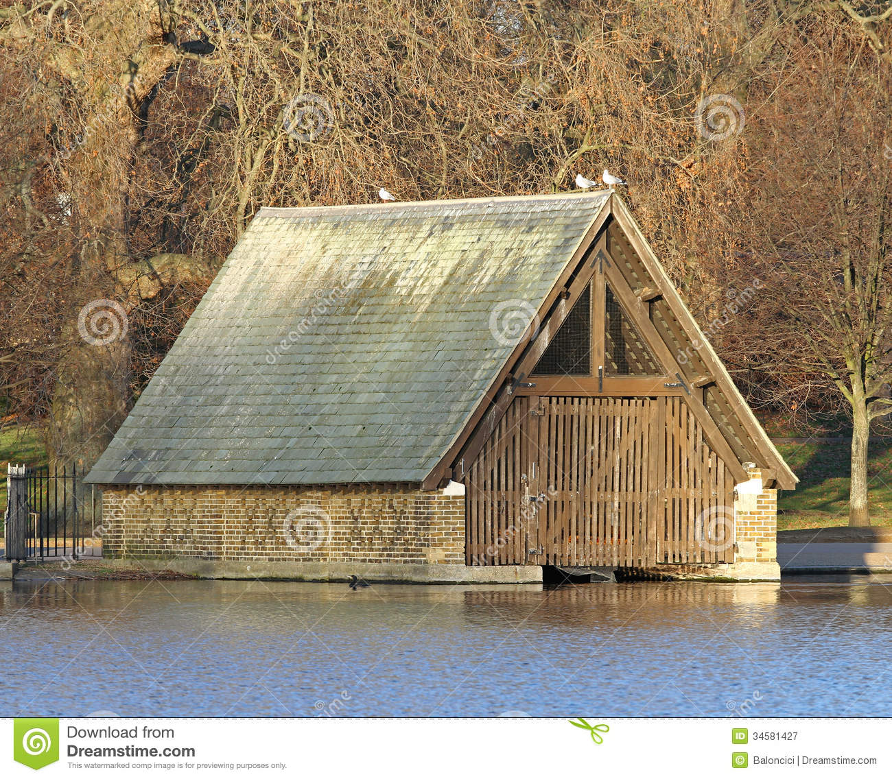 Boat Garage Stock Image Image Of Architecture Structure