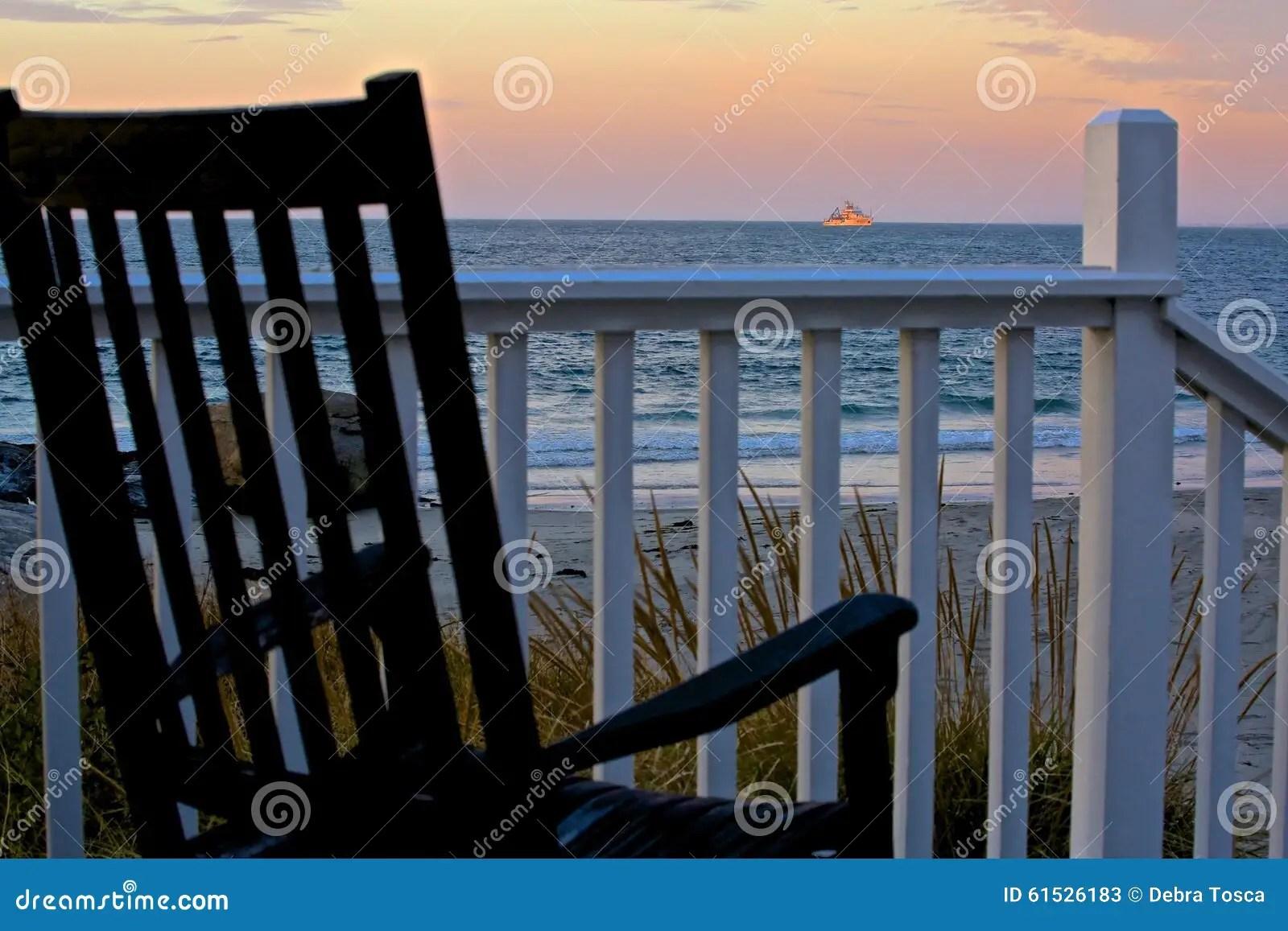 newport rocking chair sedan for sale boat ocean stock photo image 61526183