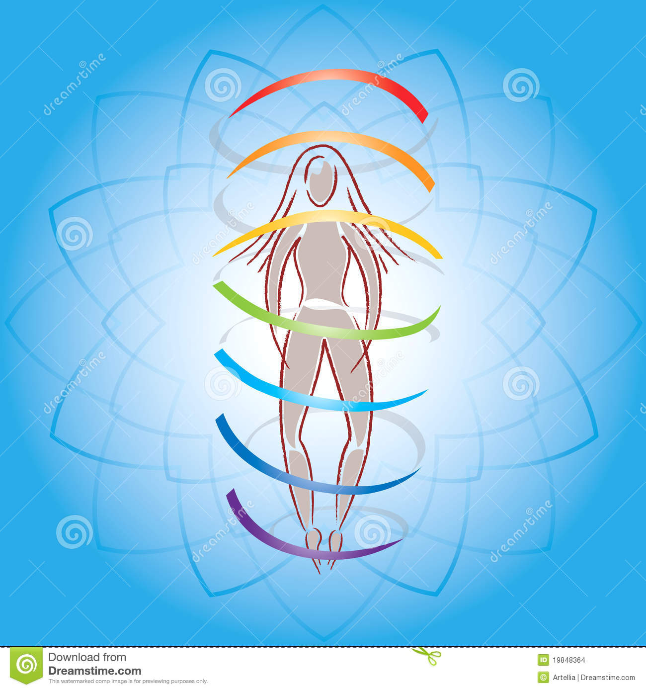 heart beat diagram land cruiser wiring body and aura on lotus flower background stock images - image: 19848364