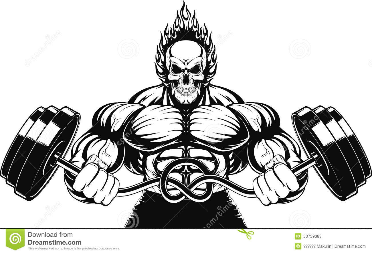 Bodybuilder Stock Illustrations 17 880 Bodybuilder Stock