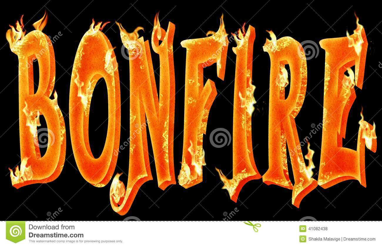 hight resolution of text design with the realistic burning effect with fire flames royalty free illustration