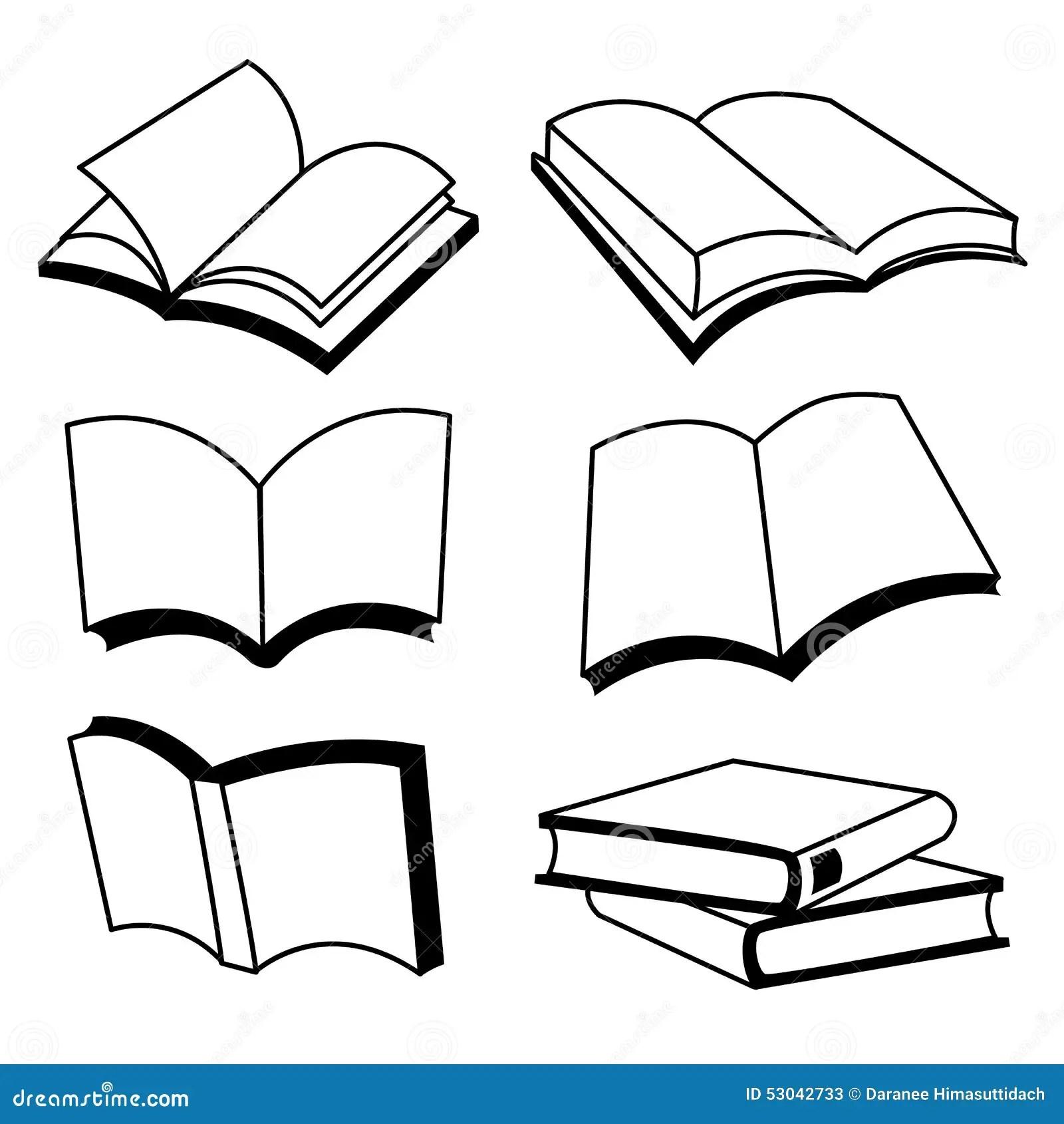 Vector Book Icon Cartoon Vector