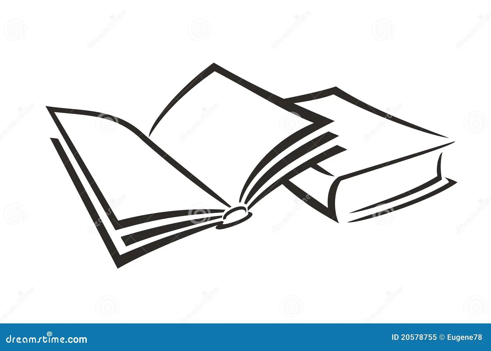 Book open stock vector. Illustration of legal, thesaurus