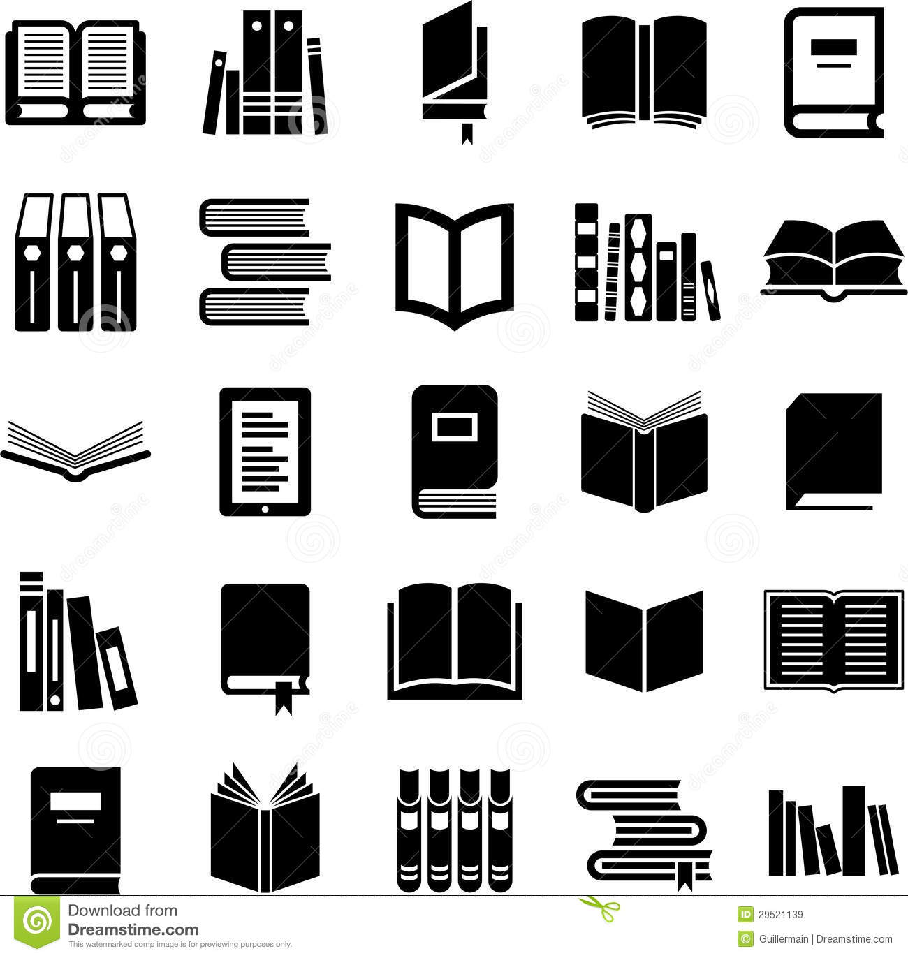 Books Icons Stock Vector Illustration Of Notepad