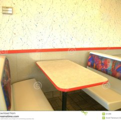 Restaurant Table And Chairs Most Expensive Gaming Chair 2018 Booth, Restaurant, Fast Food Royalty Free Stock Images - Image: 221289
