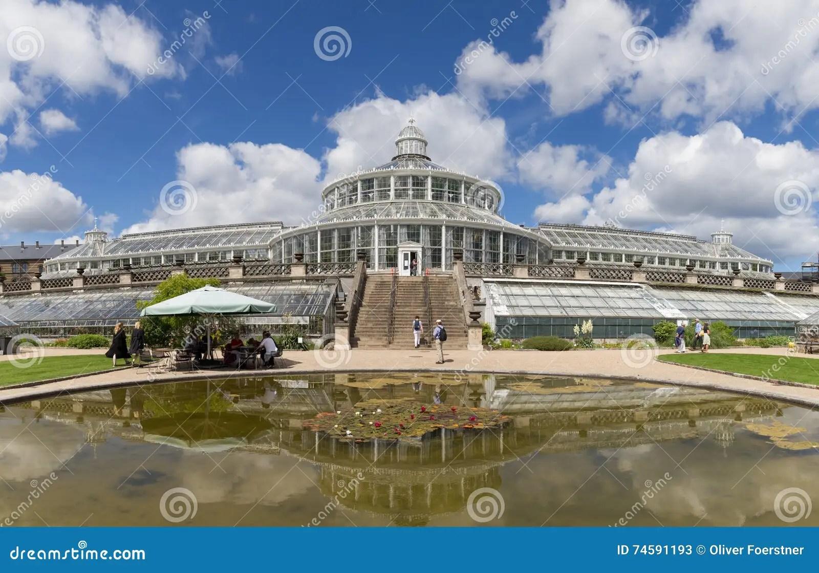 Botanischer Garten In Kopenhagen Dänemark Redaktionelles