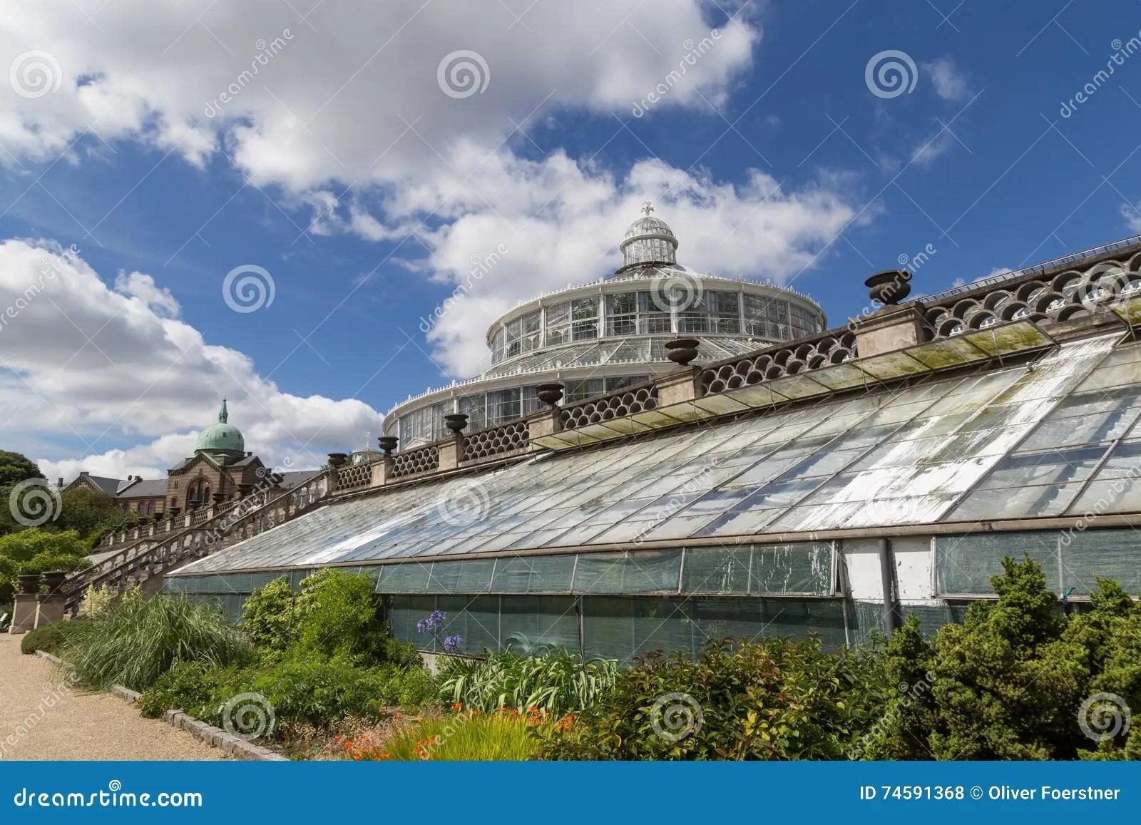 Botanischer Garten In Kopenhagen Dänemark Stockfoto Bild 74591368