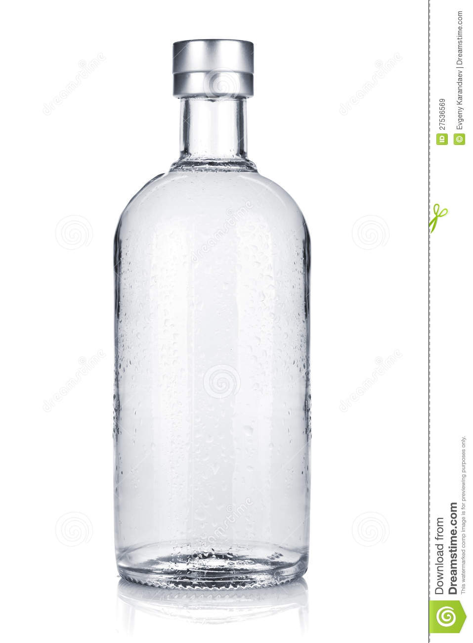 Bottle Of Russian Vodka Royalty Free Stock Images  Image