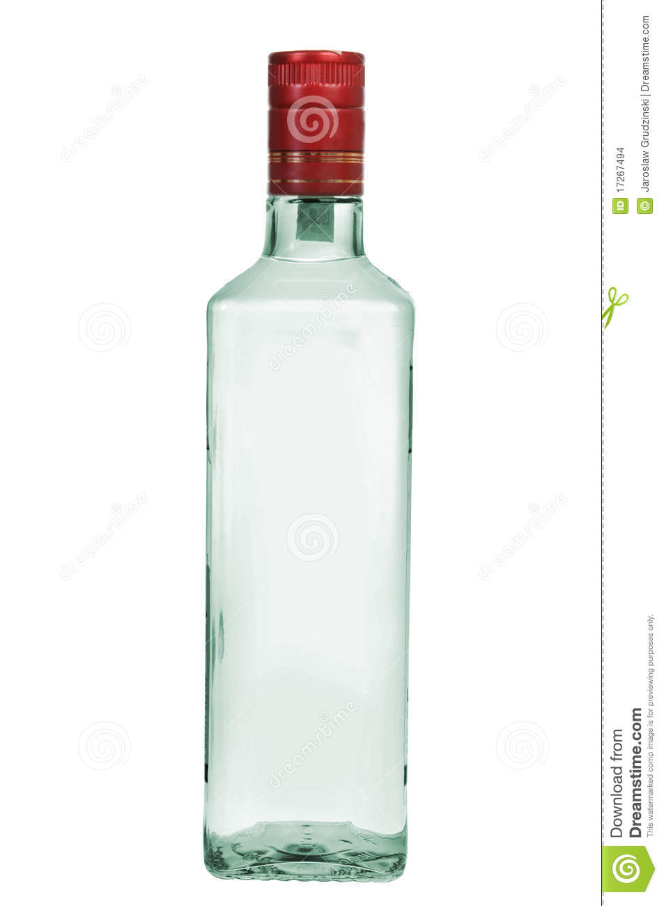 Bottle of vodka stock photo Image of detail drink