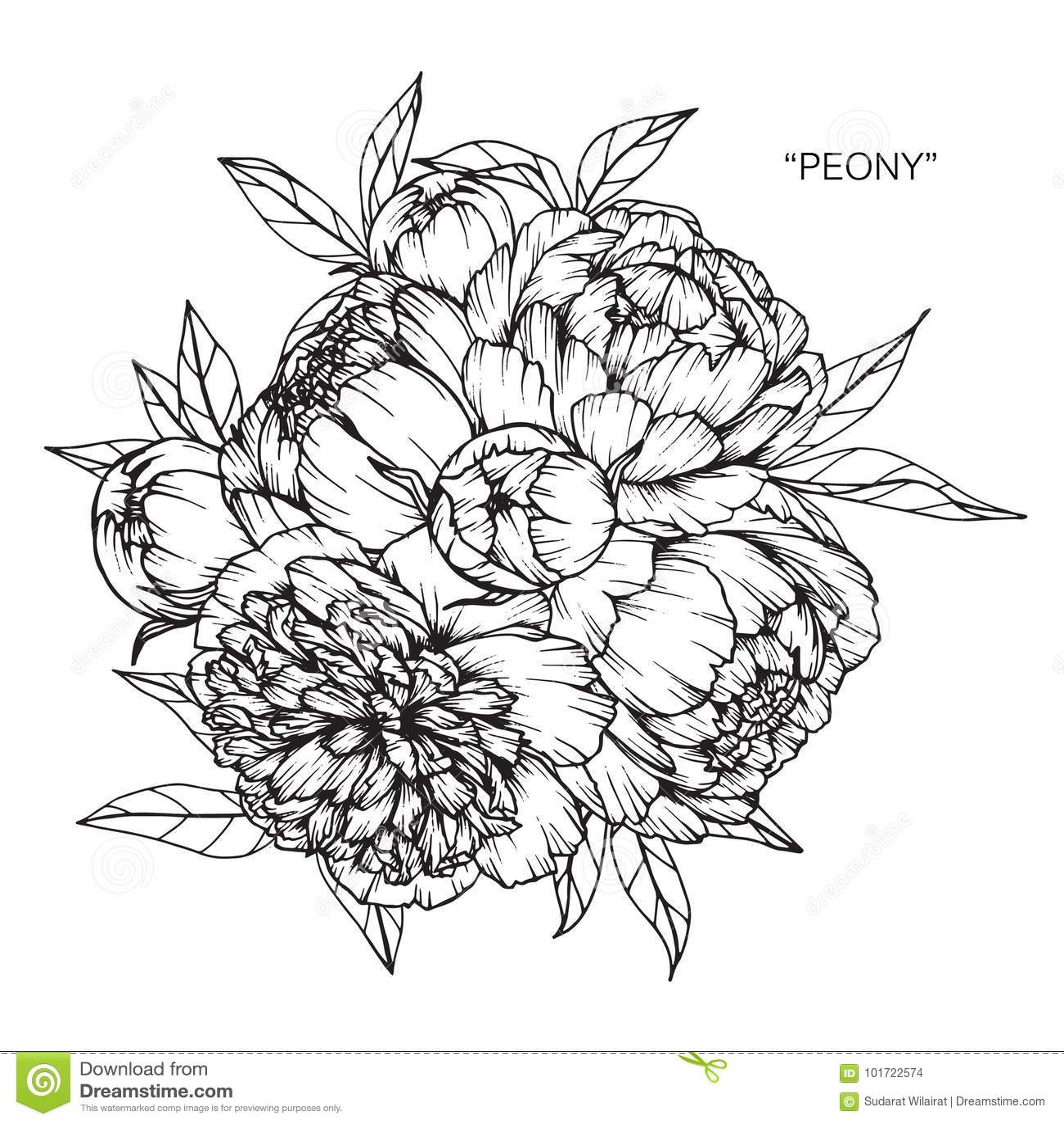 Bouquet Of Flower Clipart