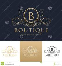 Boutique Logo Template Stock Vector. Illustration Of Brand