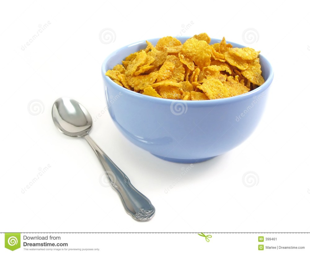 medium resolution of bowl of cereal with spoon