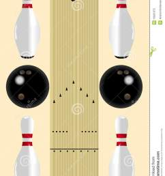 bowling lane diagram stock vector illustration of drawing 16921975 bowling pin layout dimensions bowling lane boards layout diagram [ 953 x 1300 Pixel ]