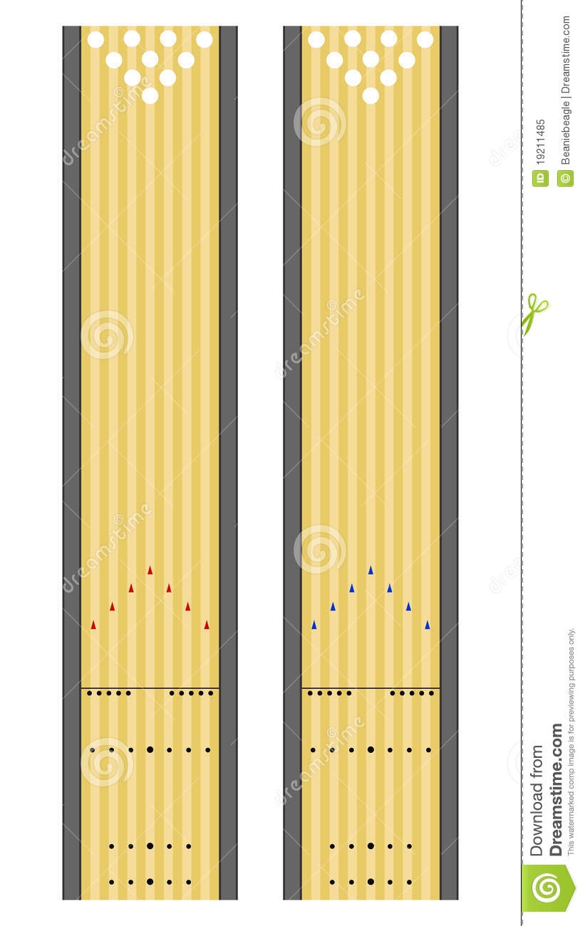 bowling lane dimensions diagram 8 to 3 encoder logic lanes stock vector. illustration of contest, approach - 19211485