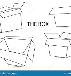 3d box dimension with the top and side view on white background with shadow [ 1600 x 1224 Pixel ]
