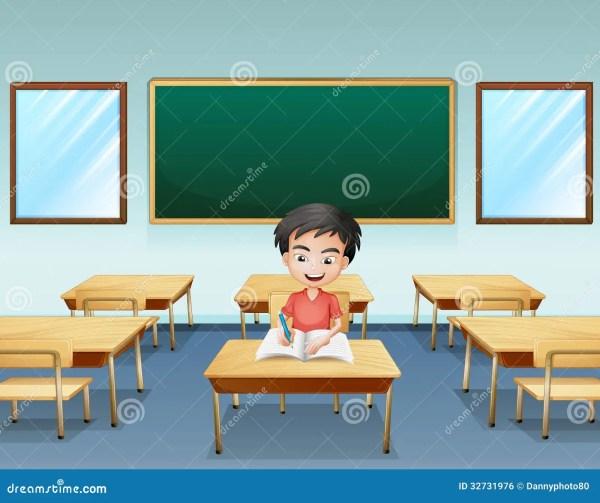 Inside Classroom Clip Art