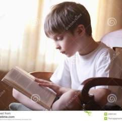 3 Legged Chair Black Resin Patio Chairs Boy Reading Book On At Home Stock Photo - Image Of Child, Male: 33891322