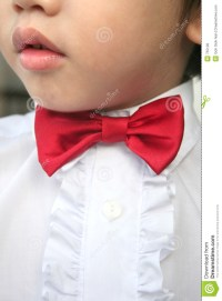 Boy With Red Bow-tie Royalty Free Stock Photos - Image: 755128