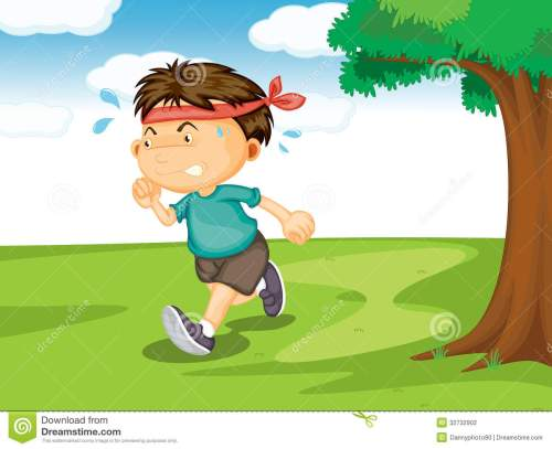 small resolution of a boy running outside