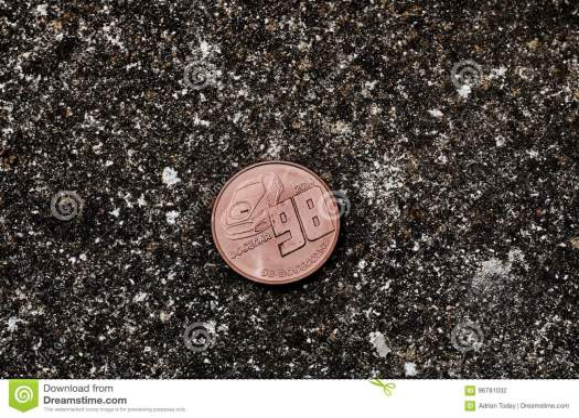 Brass dogecoin coin stock photo. Image of finance, dogecar ...
